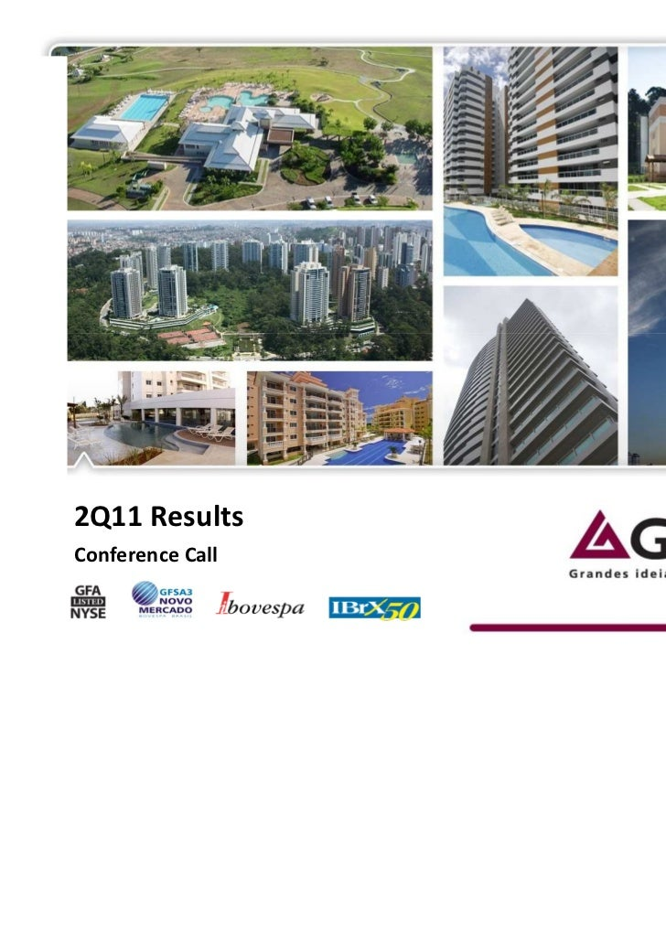 2Q11 ResultsConference Call                  1