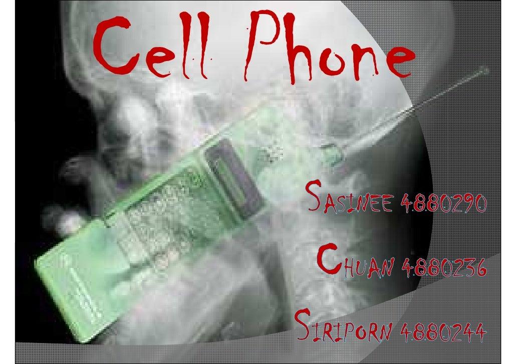 Cellphone (student preso)