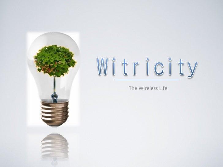 Witricity (student preso)