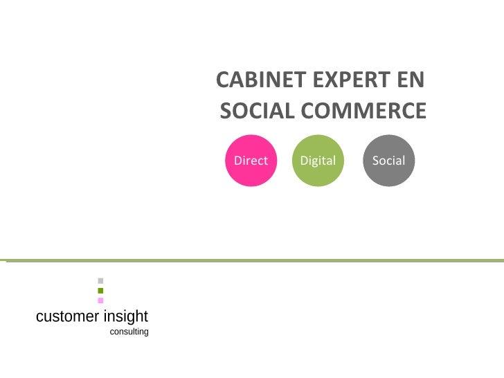 CABINET EXPERT EN    SOCIAL COMMERCE Direct Digital Social