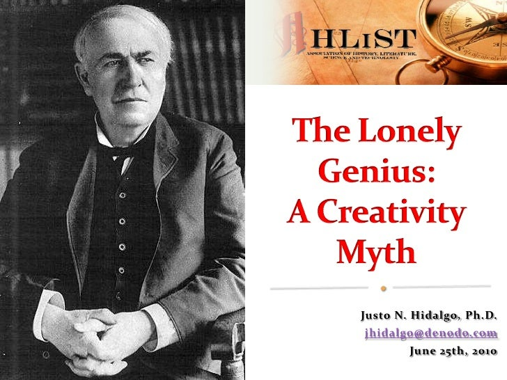 The Lonely Genius: A Creativity Myth