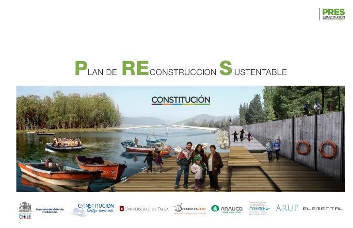 PLAN DE RECONSTRUCCION S USTENTABLE