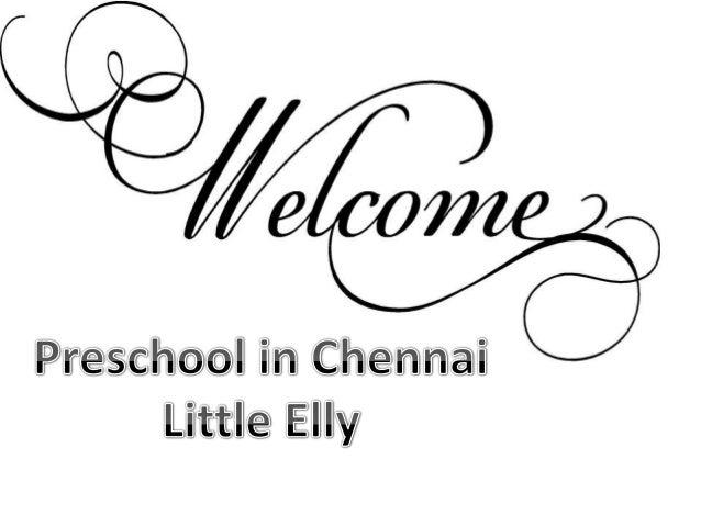 Kindergarten in Chennai - Little Elly