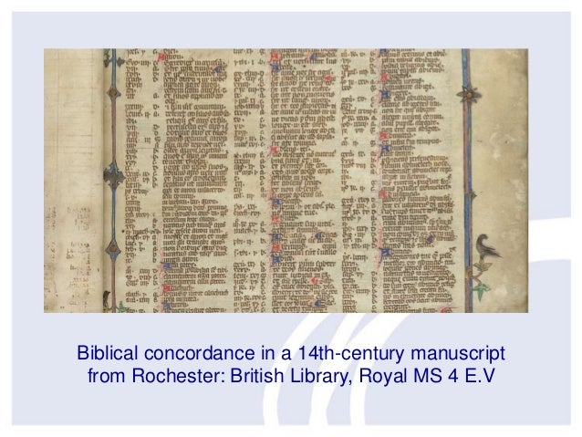 Biblical concordance