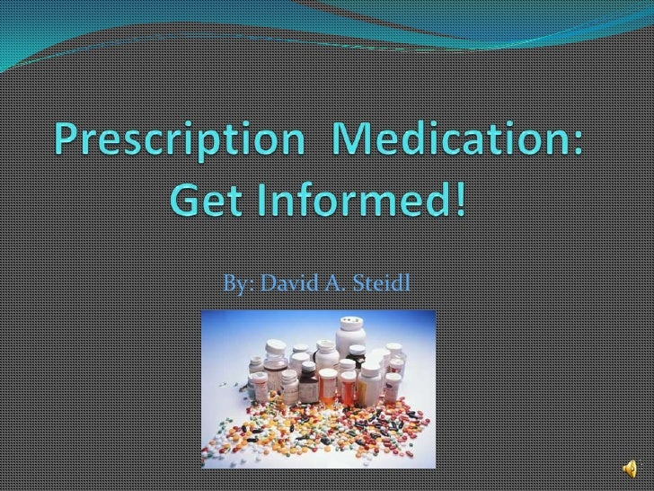 Prescription  medication ds
