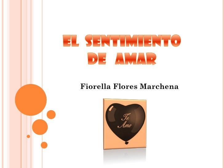 Fiorella Flores Marchena