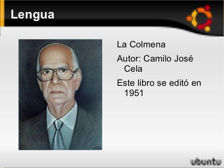 Lengua <ul><li>La Colmena