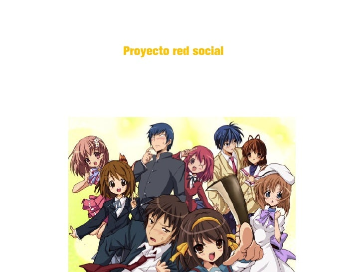 Proyecto red social