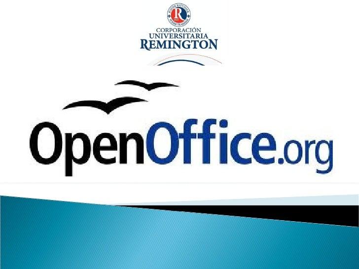 Presenacion open office