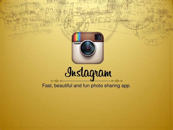 Fast, beautiful and fun photo sharing app.
