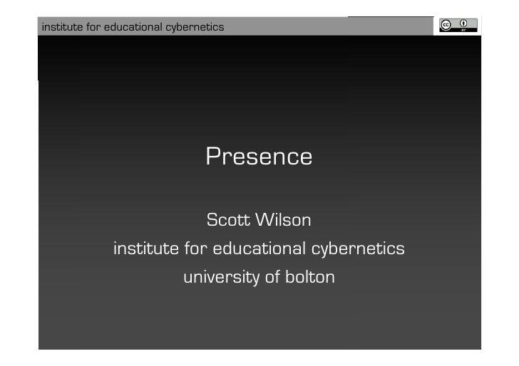 Presence @ Winterschool 2008