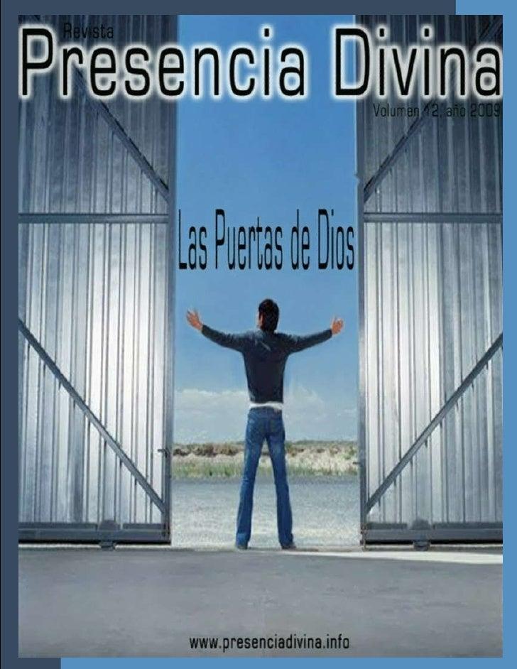 Revista Cristiana Presencia Divina Tomo 12