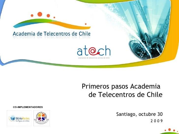 Presentación Academia de Telecentros Chile - Encuentro Inclusión Digital