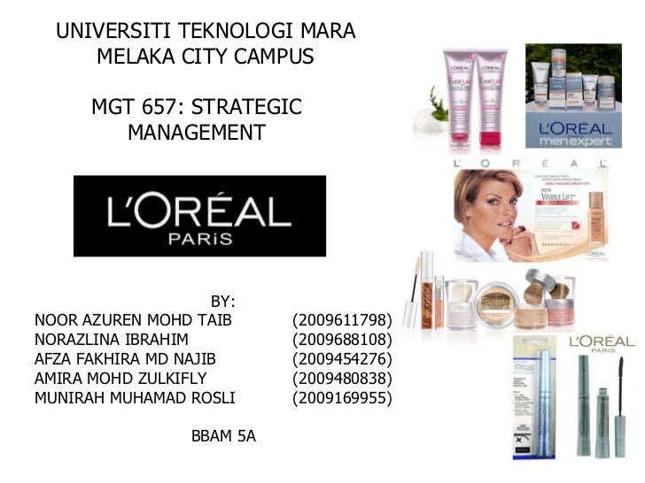 l oreal five force analysis Strategic analysis of l'oreal in china  among the five forces, the company needs to be aware of its rivalry changes in the markets as its biggest competitor .