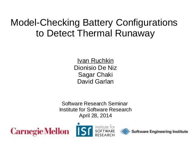 thesis model checking In computer science, partial order reduction is a technique for reducing the size of the state-space to be searched by a model checking or automated planning and.