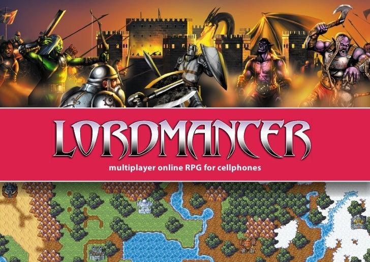 multiplayer online RPG for cellphones