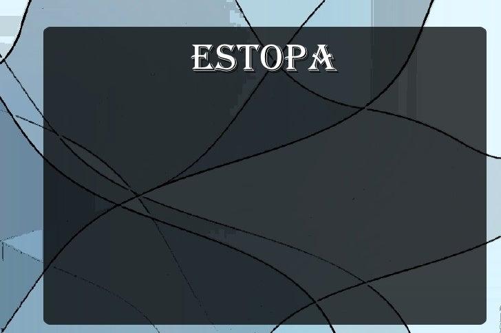 ESTOPA