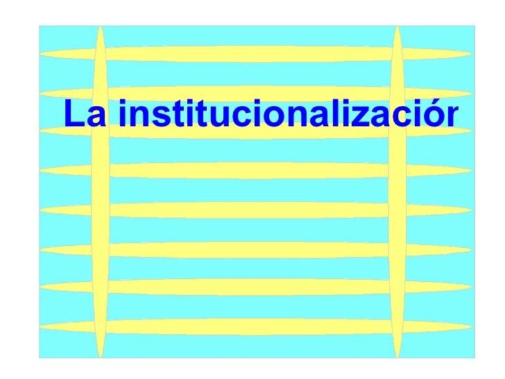 La institucionalización de delincuentes en México