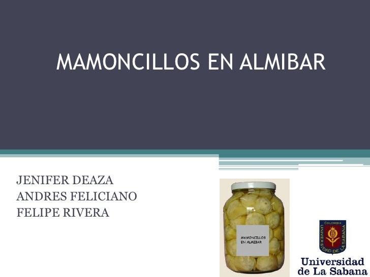 Mamoncillo Almibar