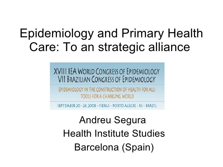 Epidemiology and the evaluation of primary health care.