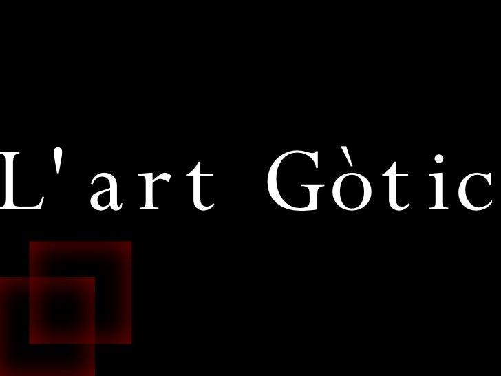 L'art  Gòtic