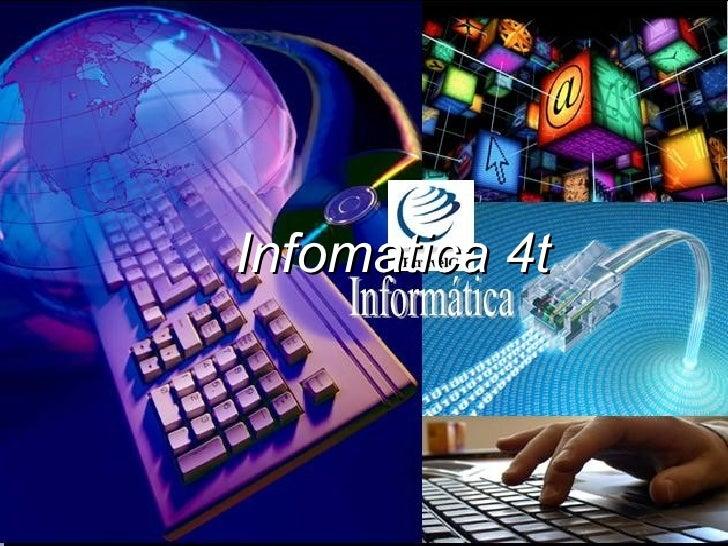 Infomatica 4t