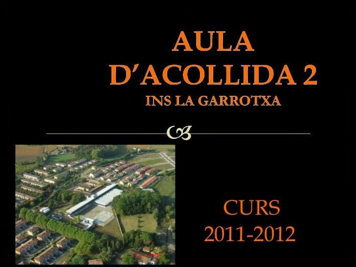 Presentació AA2 2011-2012