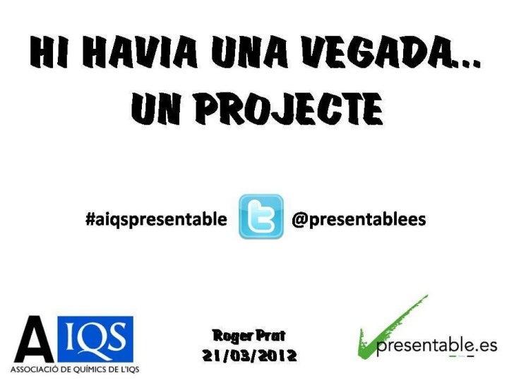 Presentació aiqs 21 3-12