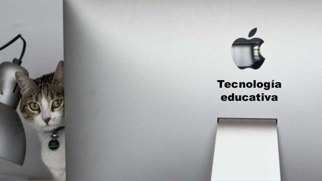 portada Tecnología educativa