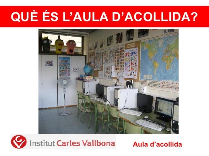 Presentació aula acollida_1112