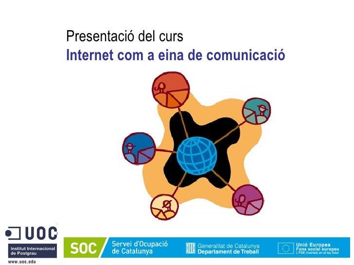 Presentació Curs SOC