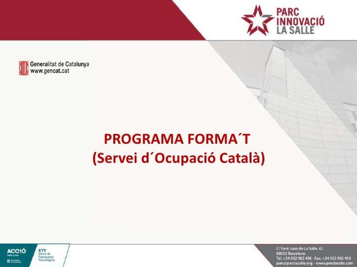 Presentació Format Soc