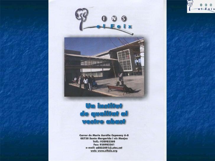 Presentaciieselfoix2011 12