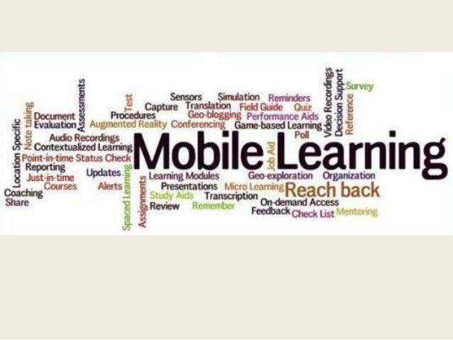 Àmbits d'ús del Mobile Learning  Educació formal  Presencial  Educació no formal  A distància