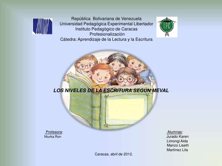 República Bolivariana de Venezuela         Universidad Pedagógica Experimental Libertador                 Instituto Pedagó...