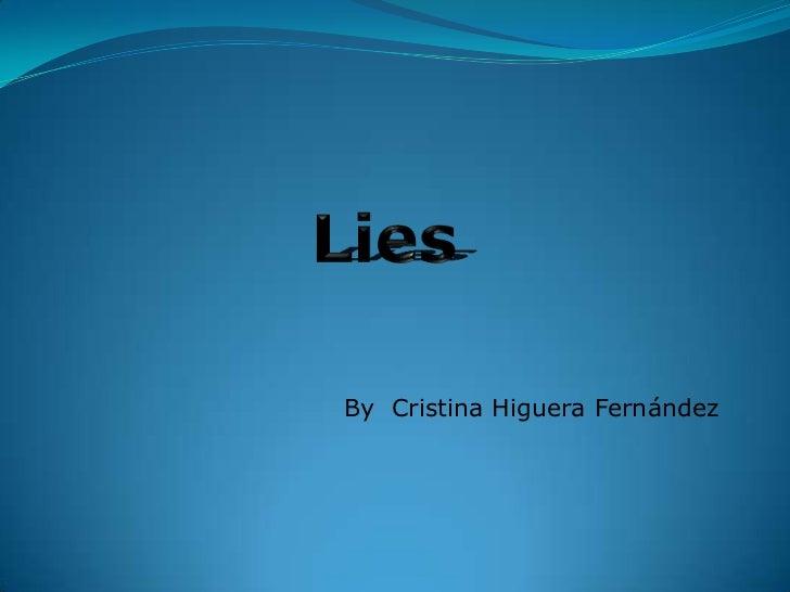 Presentación Lies