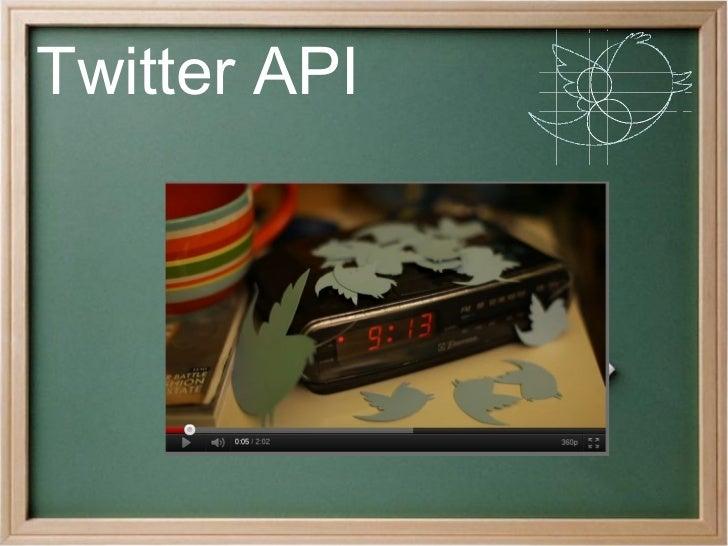 Twitter API       ¿Qué es twitter?