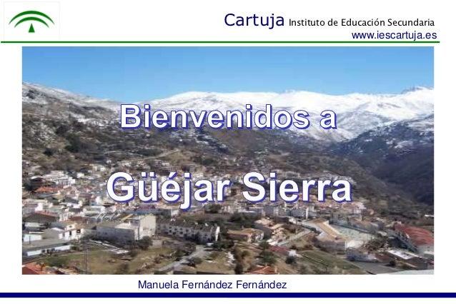 Cartuja Instituto de Educación Secundaria                                       www.iescartuja.esManuela Fernández Fernández