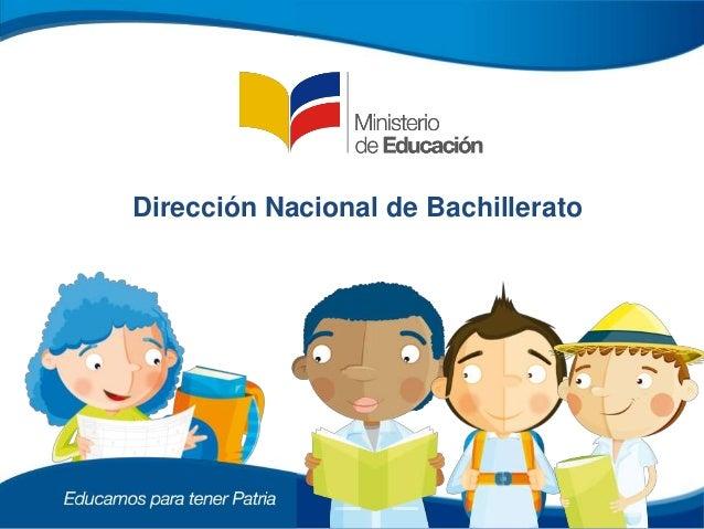 Dirección Nacional de Bachillerato