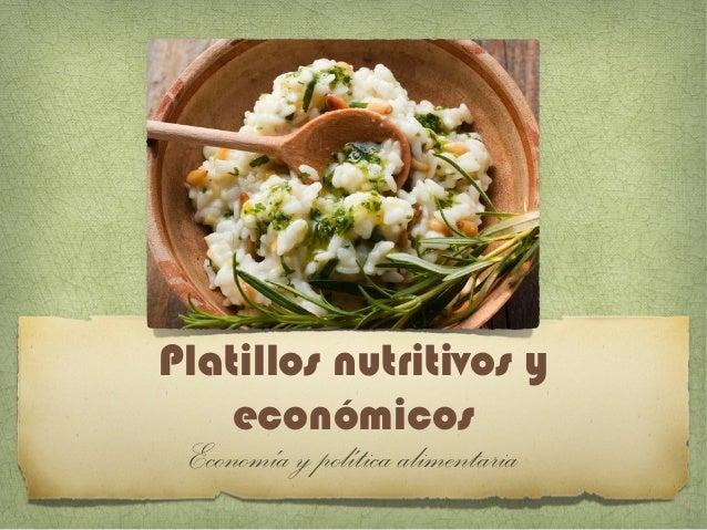 Platillos econ micos y nutritivos con leguminosas for Platillos rapidos y economicos