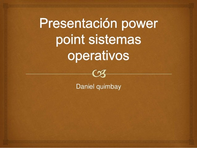 Daniel quimbay
