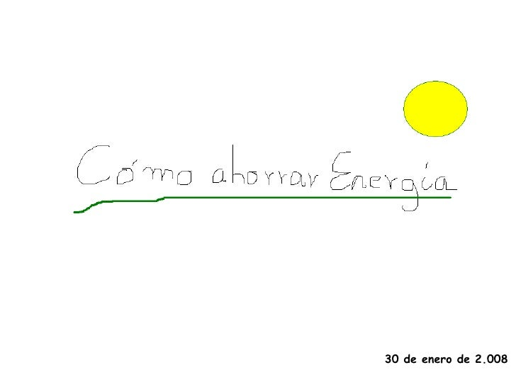 PresentacióN Ahorro EnergíA
