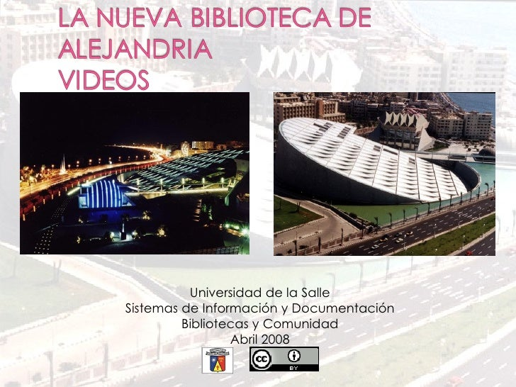 Presentación Biblioteca de Alejandria