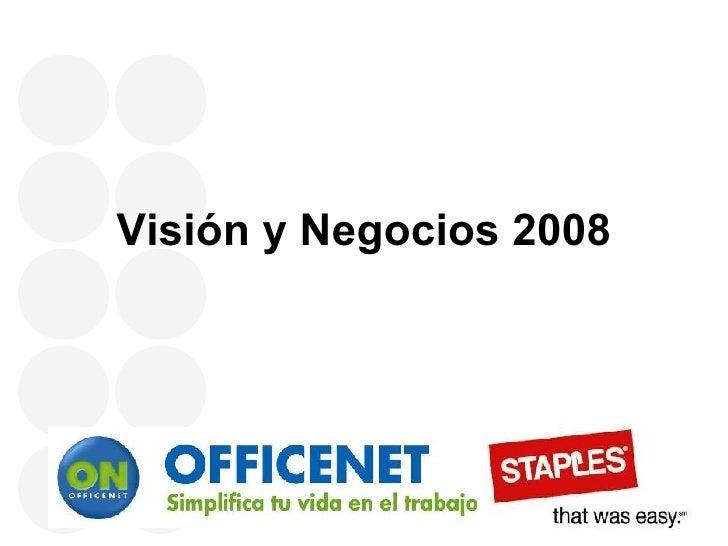 Visión y Negocios 2008