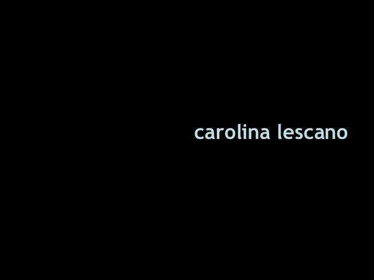PresentacióN Carolina01