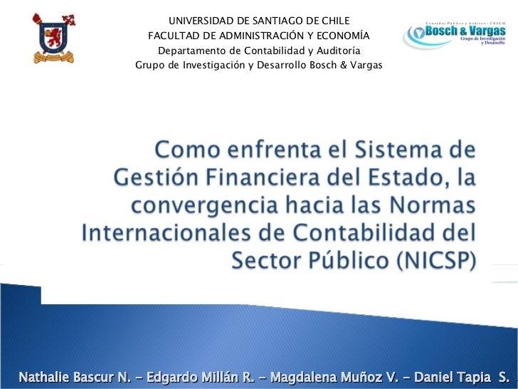Aplicación de las IFRS al sector Público