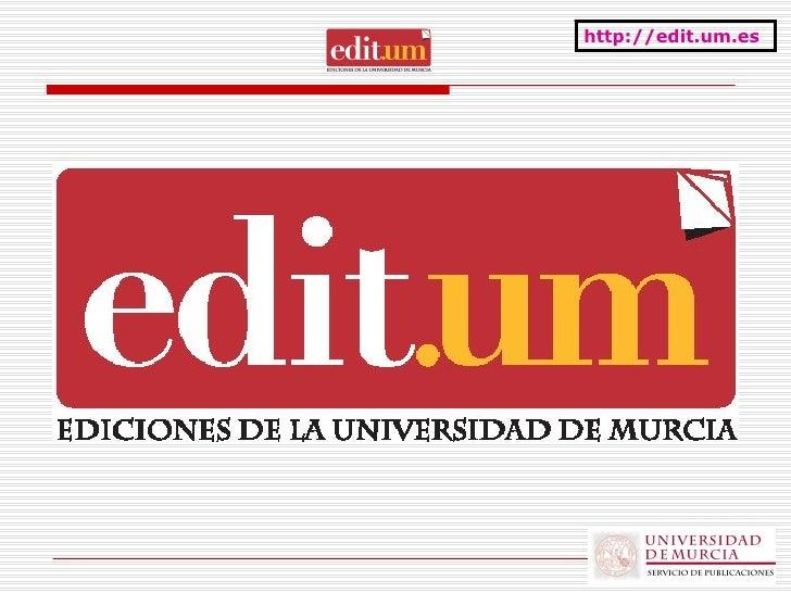 Presentación de la marca Editum