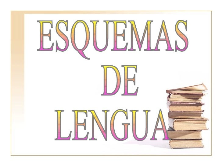 ESQUEMAS DE  LENGUA
