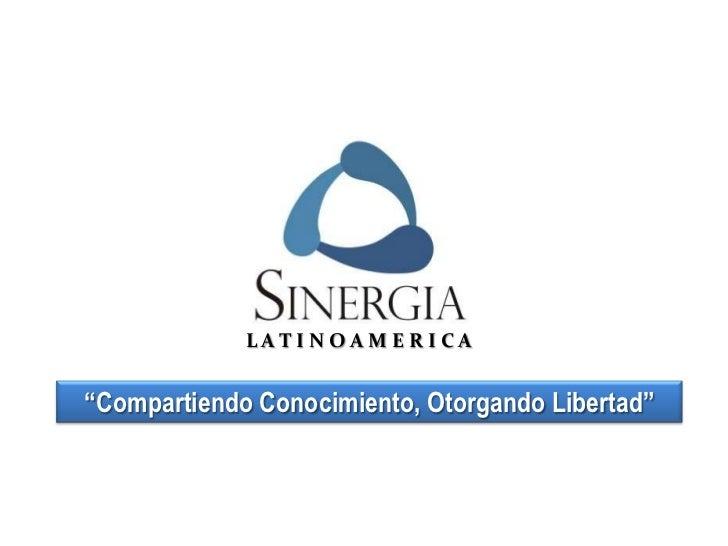 "LATINOAMERICA""Compartiendo Conocimiento, Otorgando Libertad"""