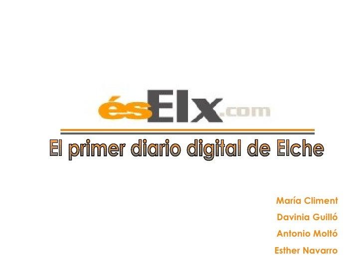 Presentación diario digital ÉsElx